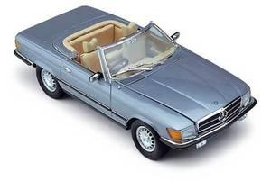 miniature de voiture Mercedes Benz 450 SL Version Européenne (1:18e) CMC Modelcars Quirao idées cadeaux