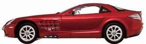 miniature de voiture Mercedes SLR Mac Laren 2002 rouge (1:12e) CMC Modelcars Quirao idées cadeaux