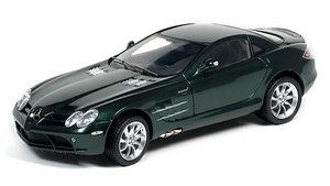 miniature de voiture Mercedes SLR Mac Laren 2002 verte (1:12e) CMC Modelcars Quirao idées cadeaux