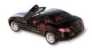 miniature de voiture Mercedes SLR Mac Laren 2002 noire (1:12e) CMC Modelcars Quirao idées cadeaux