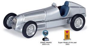 miniature de voiture Mercedes W 25 1934 (1:18e) CMC Modelcars Quirao idées cadeaux