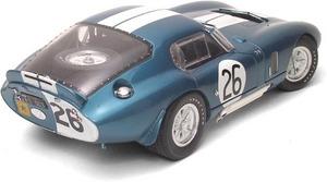 miniature de voiture Cobra Daytona #26 Reims 1965 (Exoto 18006) Exoto Quirao idées cadeaux