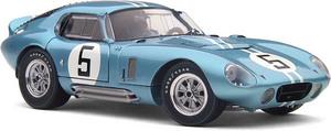 miniature de voiture Cobra Daytona  #5 1er GT  Le Mans 1964 (Exoto 18001SB) Exoto Quirao idées cadeaux