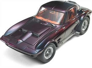 miniature de voiture Corvette coupé Monte Carlo 1963 (Exoto 00025) Exoto Quirao idées cadeaux
