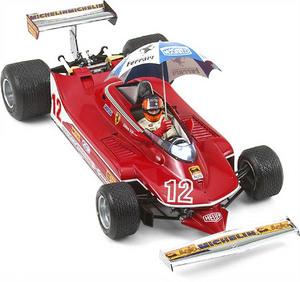 miniature de voiture Ferrari 312T4  #12 JV Rain Tires 1979 (Exoto 97075) Exoto Quirao idées cadeaux