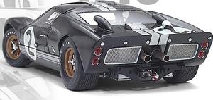 miniature de voiture Ford GT 40 MKII  #2  Le Mans 1966 (Exoto 10010) Exoto Quirao idées cadeaux