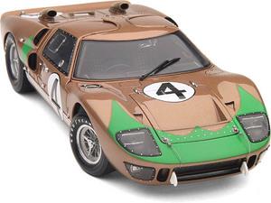 miniature de voiture Ford GT40 MKII  #4  Le Mans 1966 (Exoto 18046) Exoto Quirao idées cadeaux