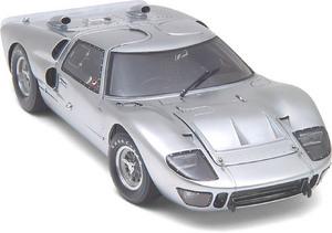 miniature de voiture Ford GT40 MKII Aluminium 1966 (Exoto 19044) Exoto Quirao idées cadeaux
