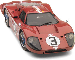 miniature de voiture Ford GT40 MKIV  #3  Le Mans 1967 (Exoto 18052) Exoto Quirao idées cadeaux