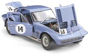 miniature de voiture Corvette Grand Sport  #14 Augusta 1964 (Exoto 18027) Exoto Quirao idées cadeaux