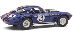 miniature de voiture Corvette Grand Sport  #3 Sebring 1964 (Exoto 18025) Exoto Quirao idées cadeaux