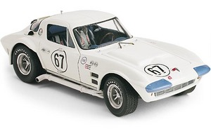 miniature de voiture Chevrolet Corvette GS Chaparral RD America 1964 (Exoto 18021) Exoto Quirao idées cadeaux