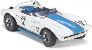 miniature de voiture GS Roadster Corvette #12 1966 (Exoto 18031) Exoto Quirao idées cadeaux