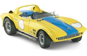 miniature de voiture GS Roadster Corvette Chicago 1964 (Exoto 18037) Exoto Quirao idées cadeaux