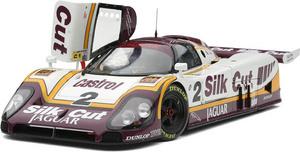 miniature de voiture Jaguar XJR9 88 Silk Cut   #2 Le Mans 88 1er (Exoto MTB00104) Exoto Quirao idées cadeaux