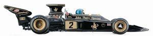 miniature de voiture Lotus Ford 72E  # 2 R Peterson 1973 (Exoto 97031) Exoto Quirao idées cadeaux