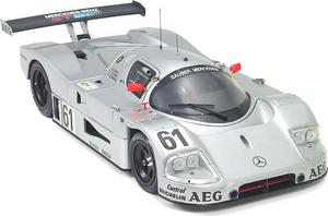 miniature de voiture Mercedes S C9  #61  Le Mans 1989 (Exoto 18195) Exoto Quirao idées cadeaux