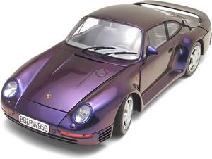 miniature de voiture Porsche 959 Cataluna Flash 1985 (Exoto MTB00008) Exoto Quirao idées cadeaux