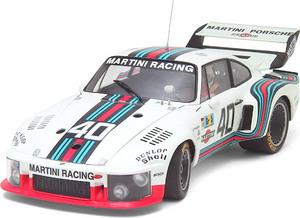 miniature de voiture Porsche MARTINI 935  #40  Le Mans WORKS 1976 (Exoto 18105S) Exoto Quirao idées cadeaux