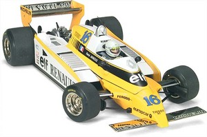 miniature de voiture Renault RE 20  #16 R Arnoux 1980 (Exoto 97093) Exoto Quirao idées cadeaux