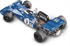 miniature de voiture Tyrrell Ford 002  #9 F Cevert 1971 (Exoto 97021) Exoto Quirao idées cadeaux