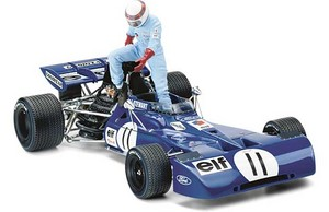 miniature de voiture Tyrrell Ford 003  #11J Stewart 1971 (Exoto 97024S) Exoto Quirao idées cadeaux