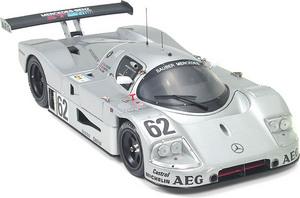 miniature de voiture Works S-M C9  #62  Le Mans 1989 (Exoto 18194) Exoto Quirao idées cadeaux