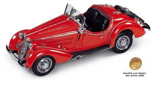 miniature de voiture Wanderer W25K Roadster 36 38 (1:24e) CMC Modelcars Quirao idées cadeaux