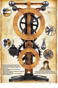 promotion sur Horloge Léonard de Vinci.