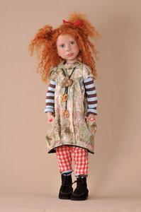poupée de collection Annick - 65 cm Nicole Marschollek-Menzner Quirao idées cadeaux