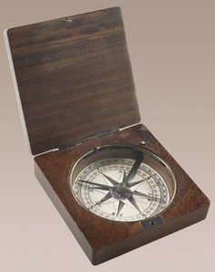 astrolabe, compass, sextant Lewis & Clark Compass Authentic Models -AM-