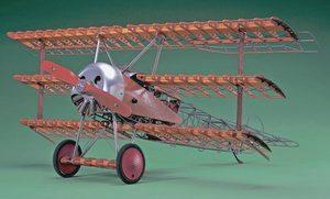 Hasegawa Hobby Kits Fokker Dr.I - 1/8