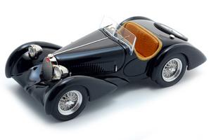 miniature de voiture Bugatti 37C 1931 A Hanni Roadster Heco Miniatures Quirao idées cadeaux
