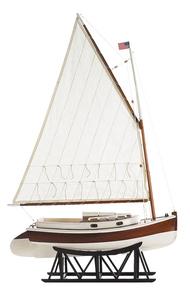 maquette de bateau, voilier, runabout Cat Cabin cruiser - 51 cm Authentic Models -AM- Quirao idées cadeaux