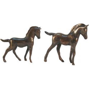 promotion sur Cheval Polo M bronze antique