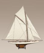 maquette de bateau, voilier, runabout Columbia  - 114 cm Authentic Models -AM- Quirao idées cadeaux