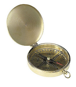 astrolabe, compass, sextant Pocket Compass  Authentic Models -AM-