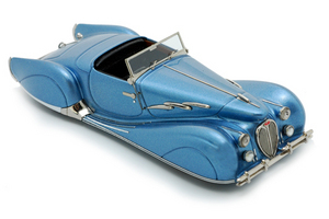 miniature de voiture Delahaye 135 Narval Bleue Heco Miniatures Quirao idées cadeaux