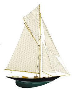 maquette de bateau, voilier, runabout Demi-coque Cap Horn - 80 cm Authentic Models -AM- Quirao idées cadeaux