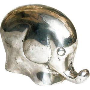 promotion sur Eléphant (bronze argenté ou bronze antique)
