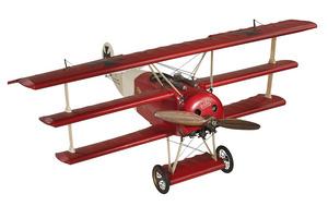 maquette d'avion Fokker Triplan - 80 cm Authentic Models -AM- Quirao idées cadeaux