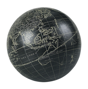 promotion sur Globe Vaugondy 14 cm noir + support