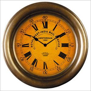 horloge Horloge de bateau bois Authentic Models -AM- Quirao idées cadeaux