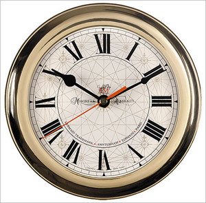 horloge Horloge de navire laiton Authentic Models -AM- Quirao idées cadeaux