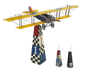 maquette d'avion Curtiss Jenny de table - 30 cm Authentic Models -AM- Quirao idées cadeaux