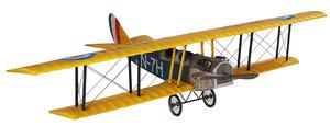 maquette d'avion Curtiss Jenny détaillé - 80 cm Authentic Models -AM- Quirao idées cadeaux