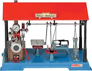 machine à vapeur D141 - Machine à Vapeur Wilesco Quirao idées cadeaux