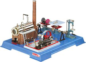 model steam engine D161 - steam engine Wilesco