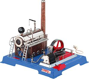 model steam engine D202 - electric version of steam engine D20 Wilesco