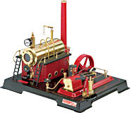 model steam engine D21 steam engine Wilesco